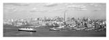 Manhattan Island, NYC Kunstdruck