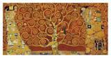 Gustav Klimt - Tree of Life (red variation) - Reprodüksiyon
