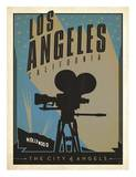 Los Angeles, The City of Angels Posters af Anderson Design Group