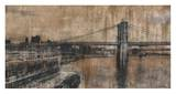 Brooklyn Bridge 1 Poster by Dario Moschetta