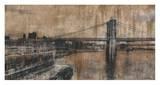 Brooklyn Bridge 1 Poster by Dario Moschetta