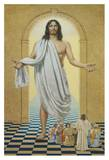 Risen Christ Art by Bill Gregg