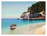 Baia mediterranea Plakater af Adriano Galasso