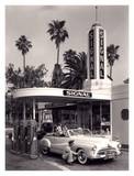 American Gas Station, 1950 Kunst
