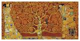 Tree of Life (red variation) Poster por Gustav Klimt
