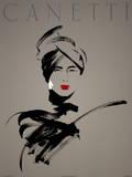 Robyn Serigraph by Michel Canetti