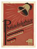 Philadelphia, City of Brotherly Love Posters by  Anderson Design Group
