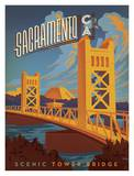 Sacramento CA Print by  Anderson Design Group