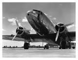 Samolot pasażerski z lat 40. Plakaty autor H. Armstrong Roberts