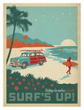 Surf's Up Prints by  Anderson Design Group