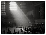 Sunbeams Shining into Grand Central Station, NYC Art by Philip Gendreau