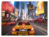 Traffic Along Broadway Prints by Alan Schein