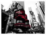 Crossroads, Times Square, NYC Print by Ludo H.