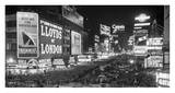 Crowds in Times Square on New Year&#39;s Eve, 1936 Affiches