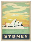 Sydney Australia Poster by  Anderson Design Group