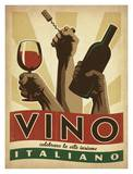 Vino Italiano Poster by  Anderson Design Group