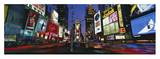 Times Square at Dusk Posters by Bob Krist