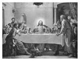 The Last Supper Prints by Luigi Morgari