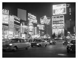 Night Scene in Times Square, 1959 Kunstdrucke