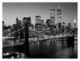 Brooklyn Bridge, NYC Plakater af Richard Berenholtz