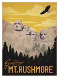 Greetings From Mt. Rushmore Lminas por Anderson Design Group