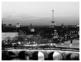 Paris at Night Póster por Arnaud Chicurel