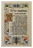 The Ten Commandments Kunst af Curt A. Mundstock