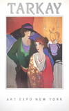 On the Stage Collectable Print by Itzchak Tarkay