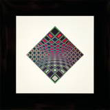 Ond-Kett Collectable Print by Victor Vasarely