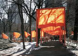 The Gates Project for Central Park, New York Kunst von Christo