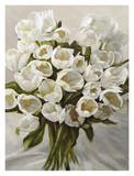 Bouquet Blanc Posters af Leonardo Sanna
