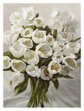 Bouquet Blanc Posters by Leonardo Sanna