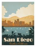 San Diego Posters by  Anderson Design Group