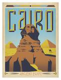 Cairo Ancient Egypt Kunst af Anderson Design Group