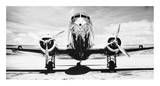 Passenger Airplane on Runway Plakater af Philip Gendreau