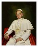 Pope Paul VI Prints by Peter Darro