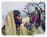 The Story of Zacchaeus Art by Bill Gregg