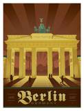 Berlin Germany Affiche par  Anderson Design Group