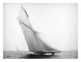 Yacht Columbia Sailing, 1899 Reprodukcje