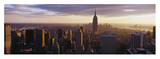 Looking Out Over Manhattan Poster by Bob Krist