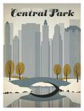 Central Park Poster par  Anderson Design Group