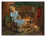 Christmas Dreams Prints by Peter Stevens