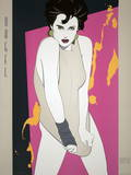 Gris marengo Serigrafa por Patrick Nagel