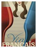 Vin Francais Print by  Anderson Design Group