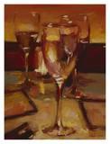 Wine Glasses, Paris Prints by Pam Ingalls