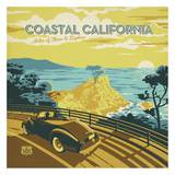 Coastal California Square Prints by  Anderson Design Group