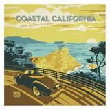 Coastal California Square Prints by  Anderson Design Group