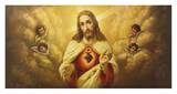 Sacred Heart of Jesus Posters by L. Crosio
