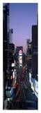 Times Square at night Poster van Richard Berenholtz