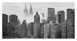 Empire and Chrysler Buildings Behind Skyline Prints